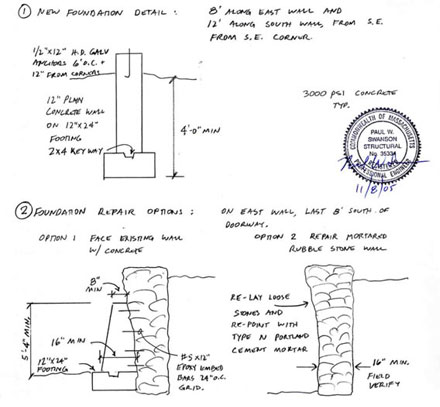 Design Engineering Colonial Barn Restoration - Timber Frame Specialists