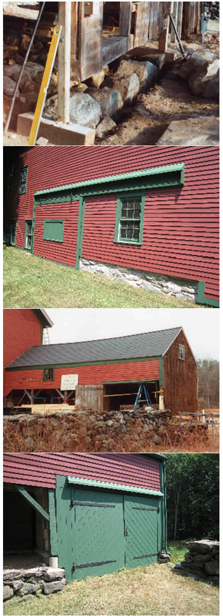 Exterior Restoration Colonial Barn Restoration Timber