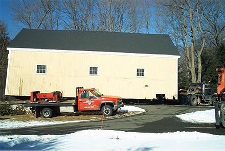 Building Moving Colonial Barn Restoration - Timber Frame Specialists